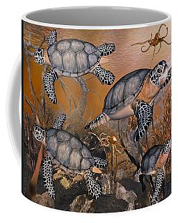 Under The Red Sea Coffee Mug