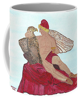 Under The Wings Of Love Coffee Mug