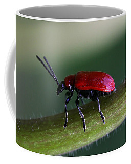 Coffee Mug featuring the photograph Under Way by Annie Snel