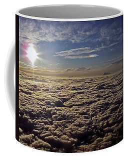 Coffee Mug featuring the photograph Undercast And Sun by Greg Reed