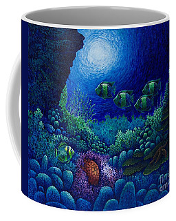 Undersea Creatures Iv Coffee Mug