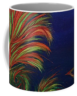 Coffee Mug featuring the painting Undersea by Robert Nickologianis
