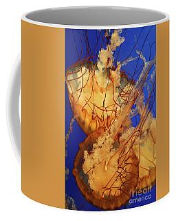 Underwater Friends - Jelly Fish By Diana Sainz Coffee Mug