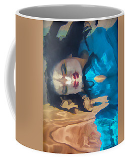 Underwater Geisha Abstract 1 Coffee Mug