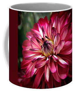 Dahlia Unfolding Coffee Mug
