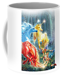 Unicorns And Fairies Coffee Mug
