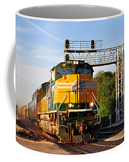 Union Pacific Chicago And North Western Heritage Unit Coffee Mug