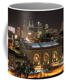 Union Station At Night Coffee Mug
