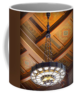 Union Station Light Fixture Coffee Mug