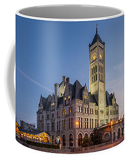 Coffee Mug featuring the photograph Union Station  by Brian Jannsen