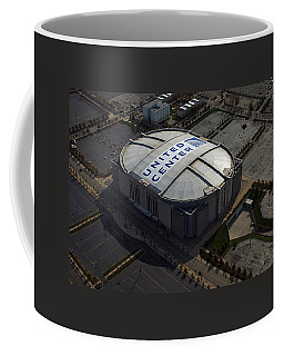 United Center Chicago Sports 09 Coffee Mug by Thomas Woolworth