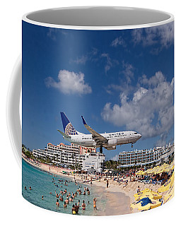 United Low Approach St Maarten Coffee Mug