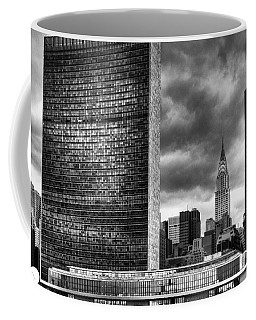 United Nations And Chrysler Building Coffee Mug by Dave Beckerman