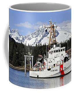 United States Coast Guard Cutter Liberty Coffee Mug by Cathy Mahnke