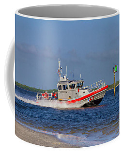 Coffee Mug featuring the photograph United States Coast Guard by Kim Hojnacki