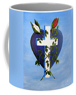 Coffee Mug featuring the painting Unity by Sheri Keith