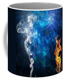 Universal Energies At War Coffee Mug by Leanne Seymour