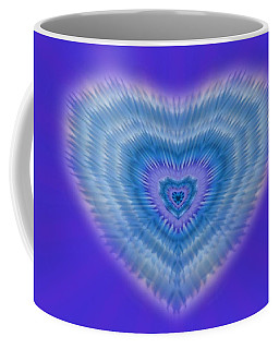 Coffee Mug featuring the digital art Universal Love by Mike Breau