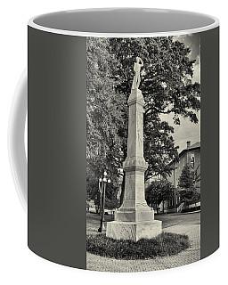 University Greys Black And White Coffee Mug