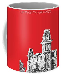 University Of Arkansas - Red Coffee Mug