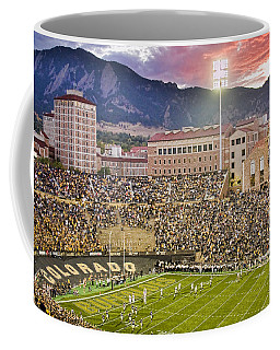 University Of Colorado Boulder Go Buffs Coffee Mug