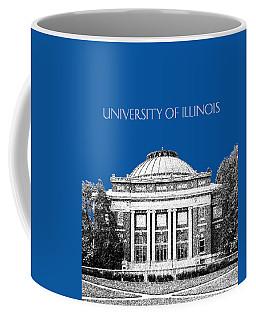 University Of Illinois Foellinger Auditorium - Royal Blue Coffee Mug