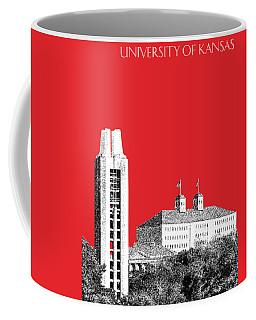 University Of Kansas - Red Coffee Mug