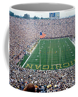University Of Michigan Football Game Coffee Mug