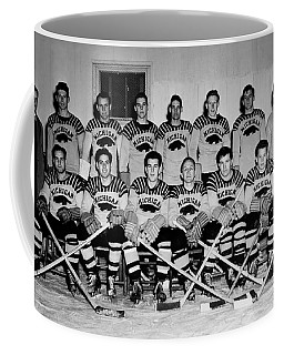 University Of Michigan Hockey Team 1947 Coffee Mug
