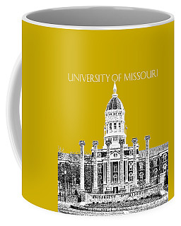 University Of Missouri - Gold Coffee Mug