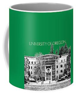 University Of Oregon - Forest Green Coffee Mug