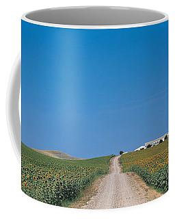 Unpaved Road Andalucia Spain Coffee Mug