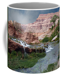 Unspoiled Waterfall Coffee Mug