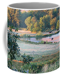 Until The Cows Come Home 1 Coffee Mug by Brooks Garten Hauschild