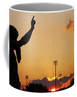 Cemetery Sunset Coffee Mug