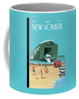 New Yorker July 22nd, 2013 Coffee Mug