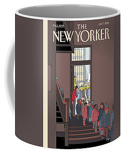 New Yorker January 7th, 2013 Coffee Mug