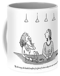 By The Way, The Health Benefits Of A Glass Coffee Mug