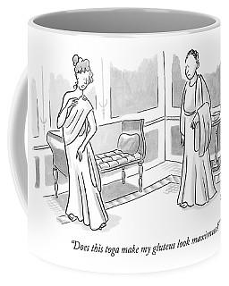 Does This Toga Make My Gluteus Look Maximus? Coffee Mug