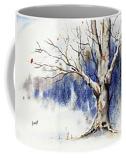 Untitled Winter Tree Coffee Mug