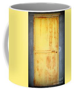 Unused Door Coffee Mug by Clare Bevan