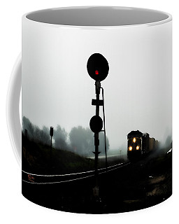 Coffee Mug featuring the photograph Up 8057 by Jim Thompson