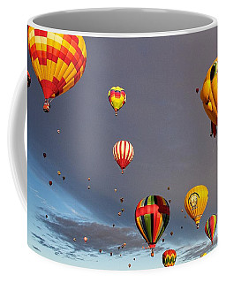 Coffee Mug featuring the photograph Up And Away by Dave Files