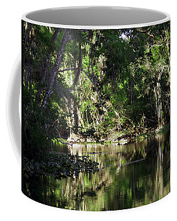 Up The Lazy River  Coffee Mug