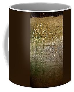 Up Yours Baby Coffee Mug