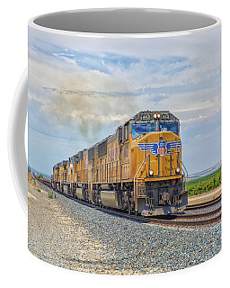 Coffee Mug featuring the photograph Up4421 by Jim Thompson
