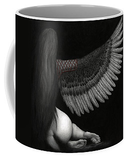 Upon Ashen Wings Coffee Mug by Pat Erickson