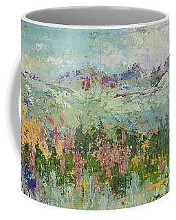 Coffee Mug featuring the painting Highland Color by Margaret Bobb