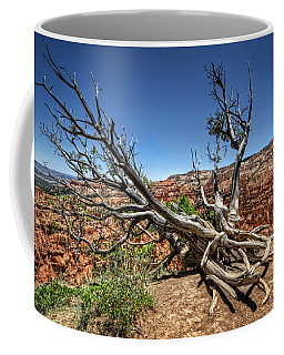 Coffee Mug featuring the photograph Uprooted - Bryce Canyon by Tammy Wetzel