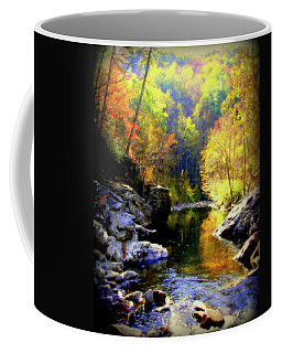 Upstream Coffee Mug by Karen Wiles
